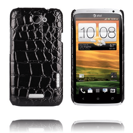 Raptor (svart) htc one x skal