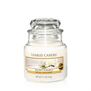 Yankee Candle Fluffy Towels Small Jar 104g