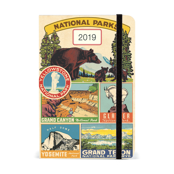 Cavallini Papers & Co 2019 National Parks Parks Parks Weekly Planner Diary d5bc45