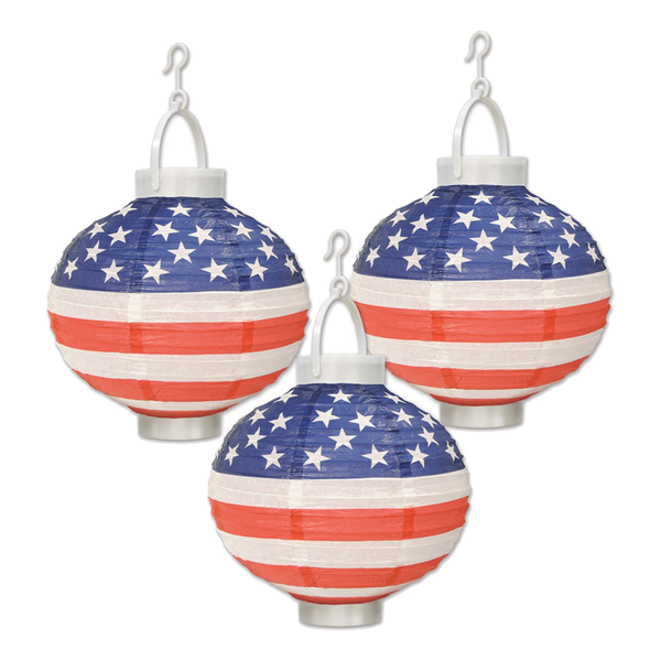 Papperslyktor LED USA