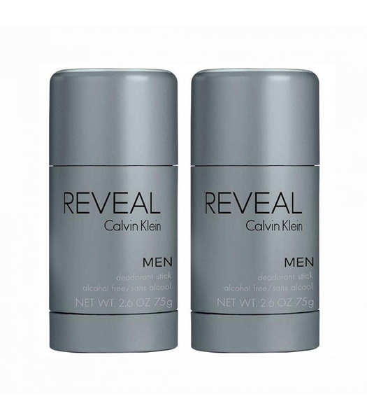 2-pack calvin klein reveal deo stick 75g
