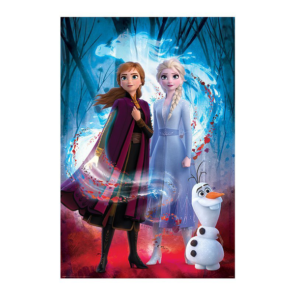 Frozen 2 / frost 2 maxi poster – guided spirit