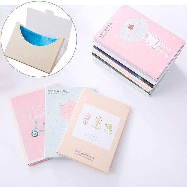 Papers makeup cleansing oil absorbing face paper korea cute cart