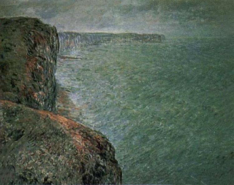 The Sea Seen Seen Seen from the Cliffs,Claude Monet,50x40cm 1457ba