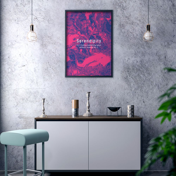 Poster Poster Poster A3 30x42cm Serendipity 9dd761
