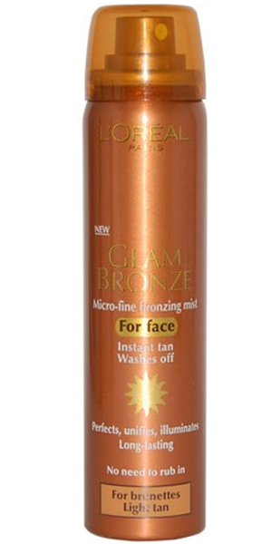 L oreal glam bronze face mist 75 ml
