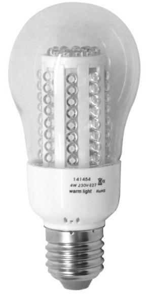 Led lampa 4w 10-pack