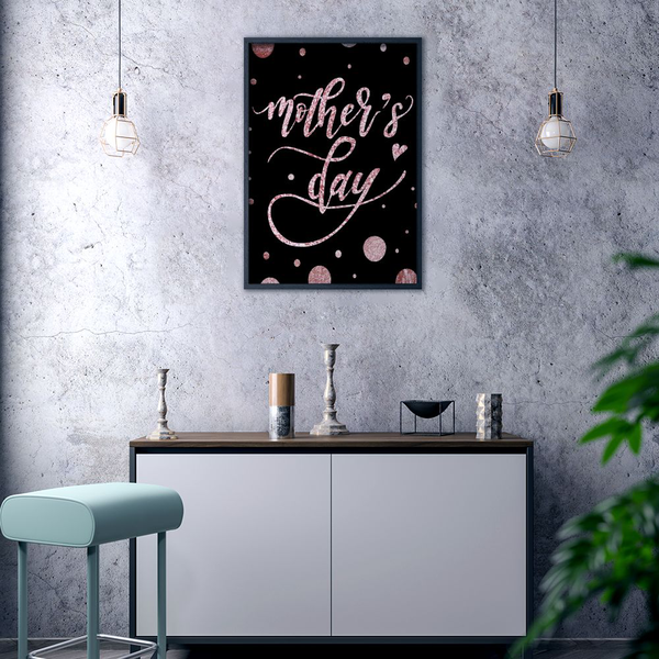 Poster A3 30x42cm Mother's Mother's Mother's Day Sparkle df2c68