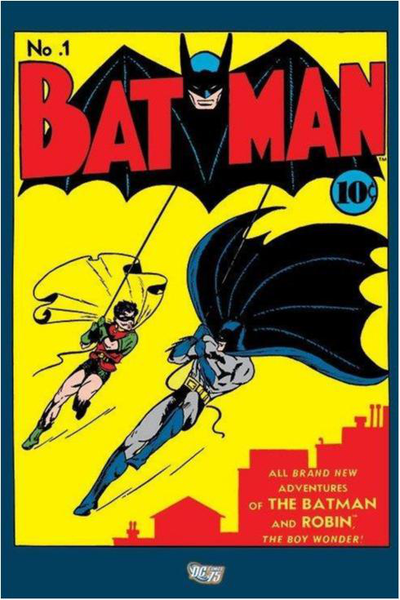 Batman - No No No 1 (Läderlappen nummer 1) 28be9b