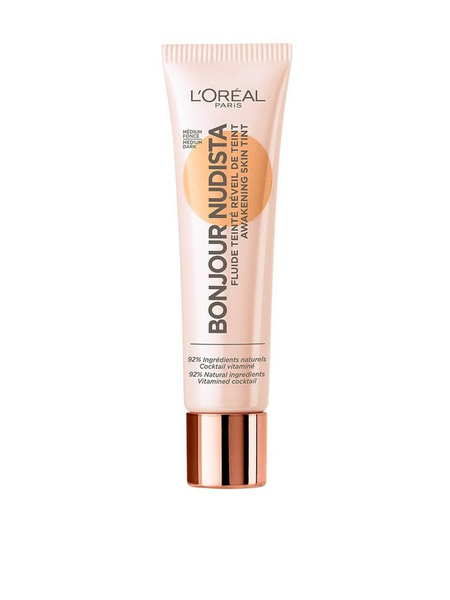 L'oréal paris bonjour nudista awakening skin tint bb – medium/da