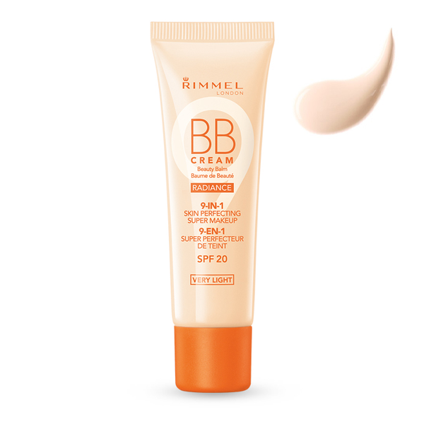 Rimmel bb cream radiance 9-in-1 skin perfect super makeup spf 20