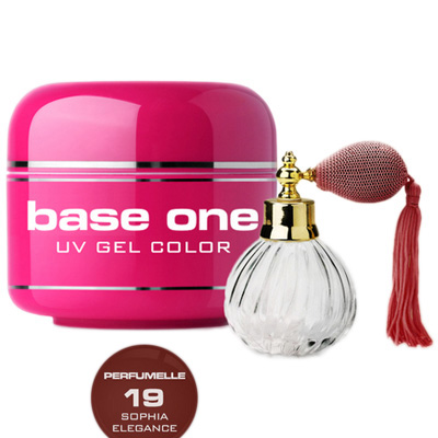 Base one – uv gel – perfumelle – sophia elegance – 19 – 5 gram