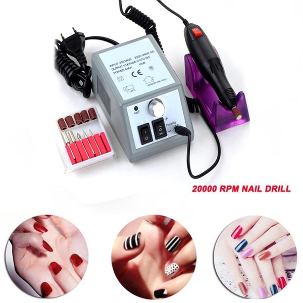 Professional 20000rpm electric nail polisher file drill manicure
