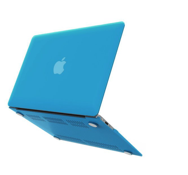 Macbook air 13 skal – ljusblå (2012-2017)