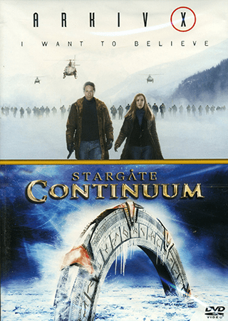 Arkiv x: i want to believe / stargate: continuum – dvd