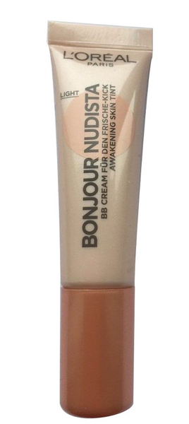 L'oreal bonjour nudista skin tint foundation light bb cream