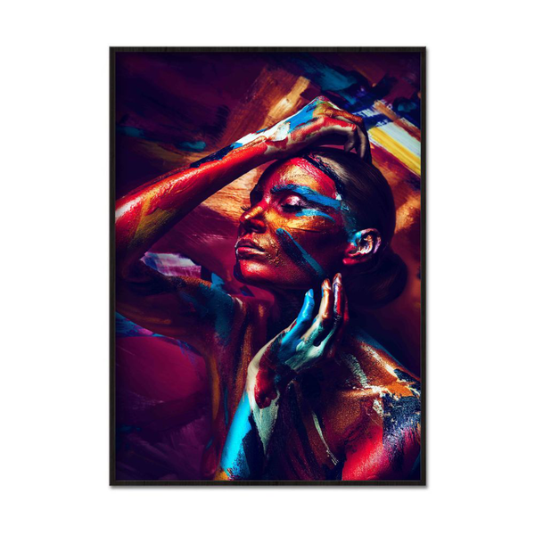 Poster A4 21x30cm Painted Beauty