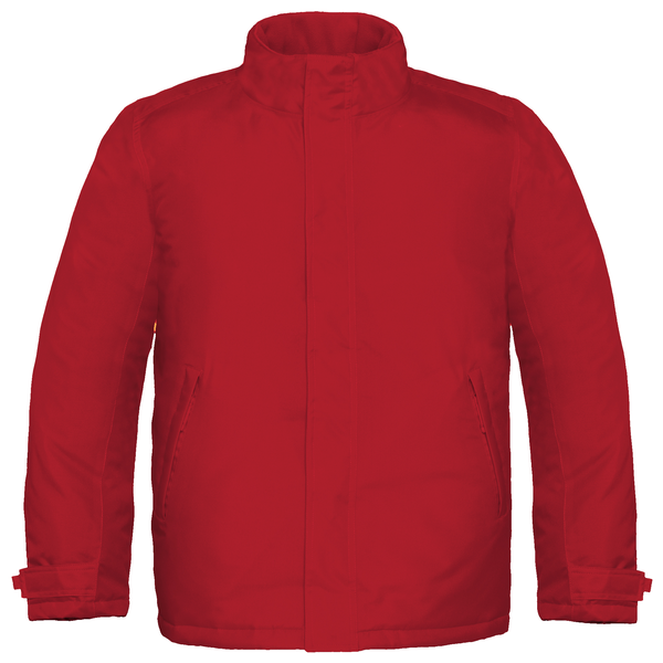B&c mens real+ premium windproof thermo-isolated jacket (waterpr