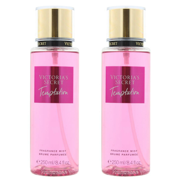 2-pack victoria's secret temptation fragrance mist 250ml