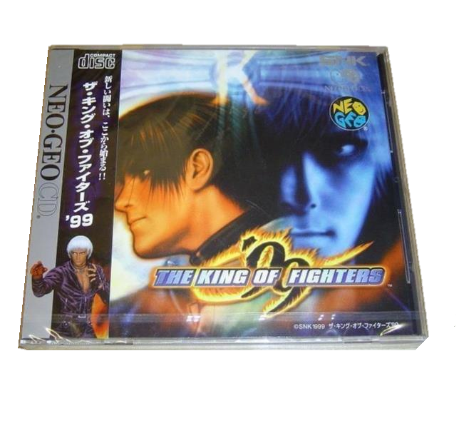 King of fighters 99 neo geo cd