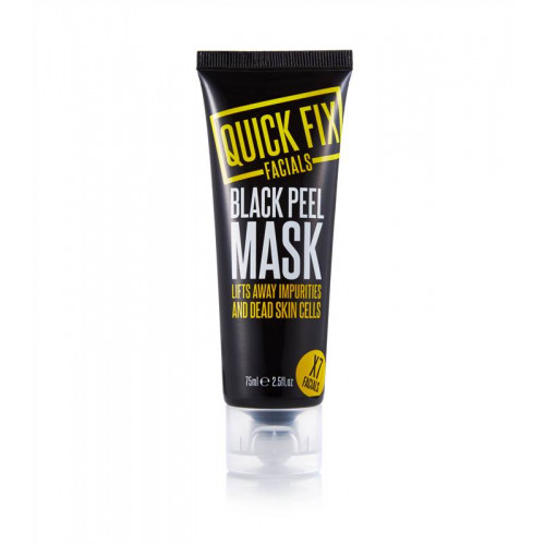 Quick fix ansiksmask black peel mask
