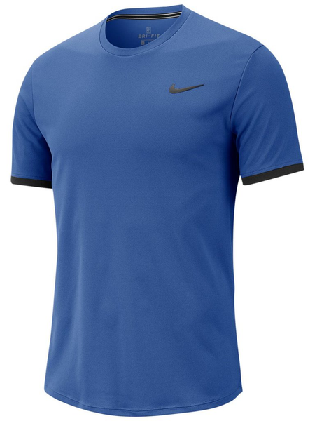 Nike court dry top blue