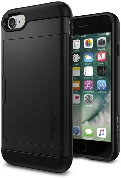 Köp Spigen Slim Armor CS (iPhone 8 7) med fri frakt  93ac075c39a2d