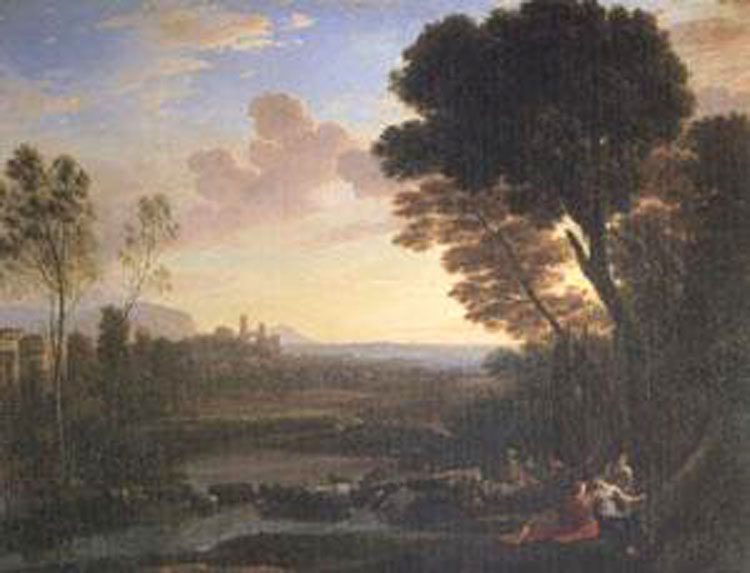 Ulysses Returns Chryseis to Her Father,Claude Lorrain,50x40cm