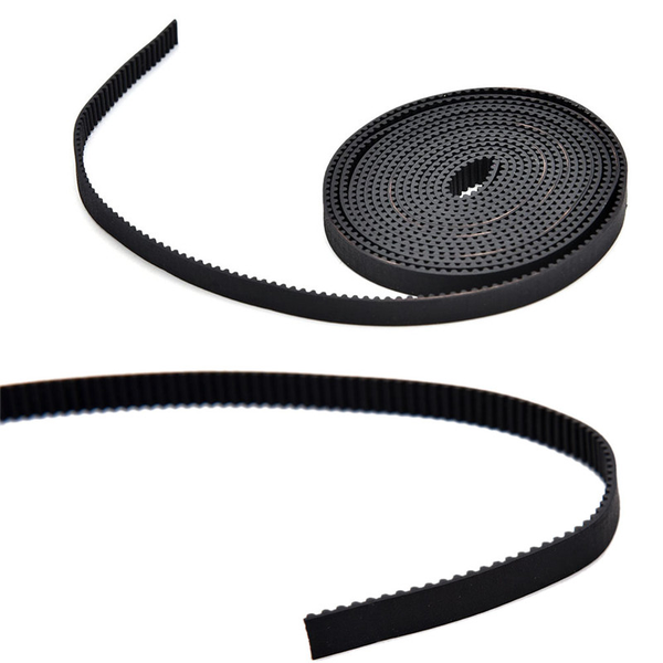 Open end reprap gt2 timing belt 6mm wide 2mm pitch 2gt for pulle