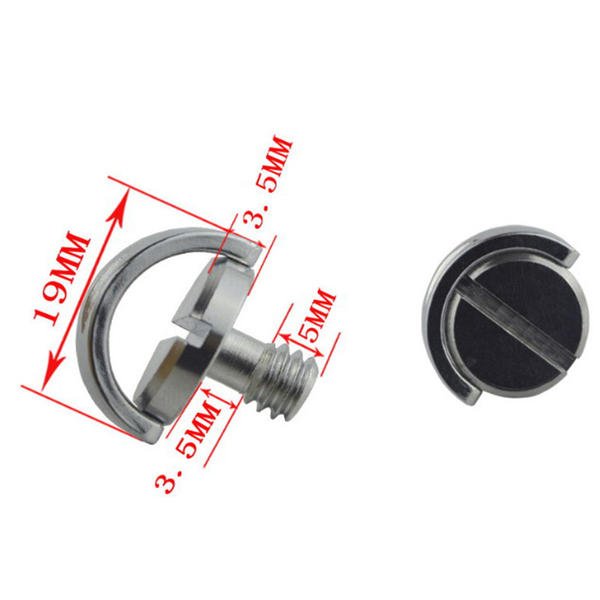 1/4 screw with c ring for camera tripod / monopod / quick releas