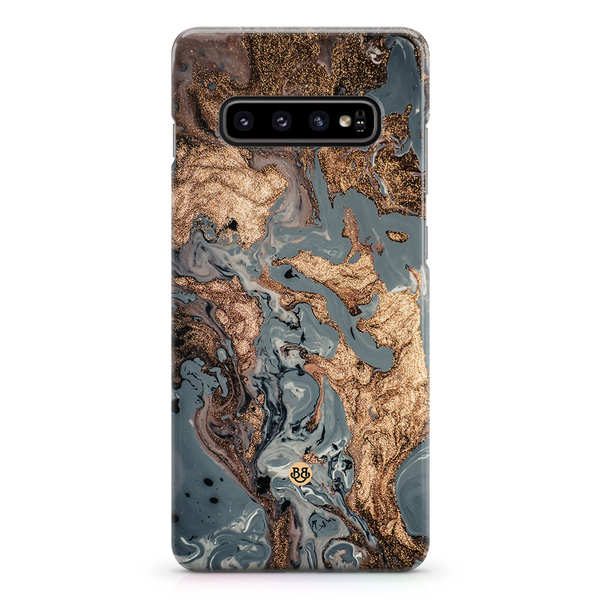 Bjornberry samsung galaxy s10 premiumskal – golden sea