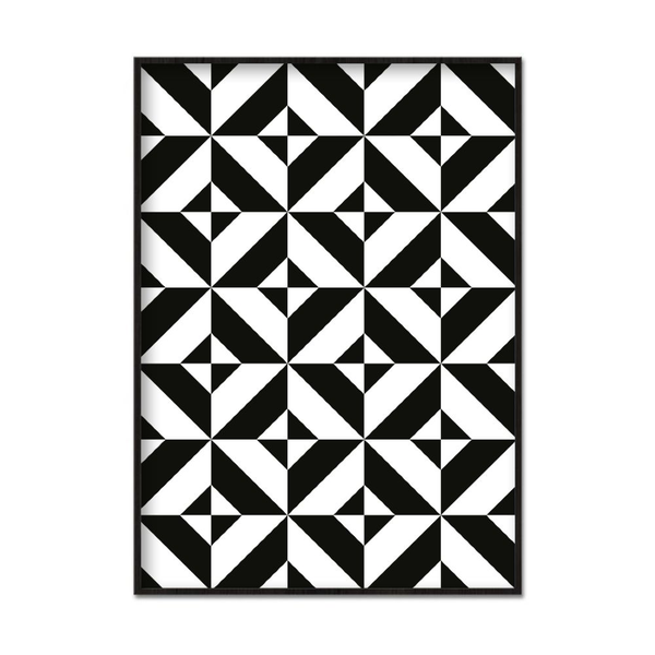 Poster A3 30x42cm Abstract maze
