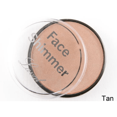 Laval face shimmer pressed powder-tan