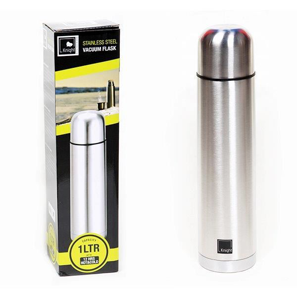 1 litre stainless steel hot & cold