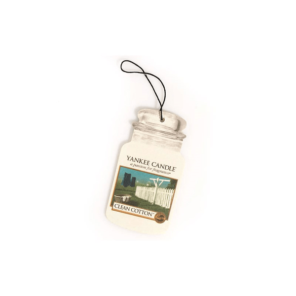 Yankee Candle Candle Candle Clean Cotton Car Jar 342979