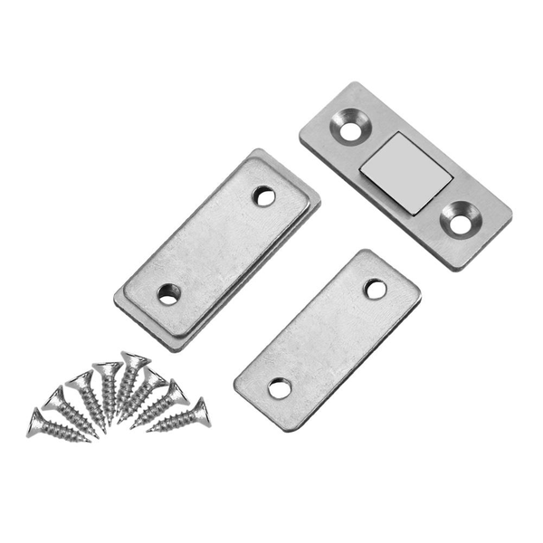 Ultra thin strong magnetic door catch latch for furniture ca