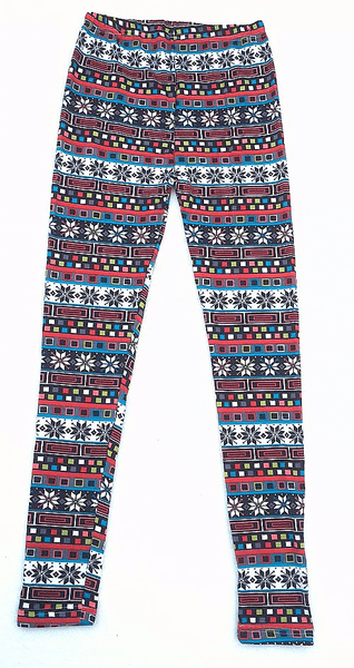 Leggings vintermönster