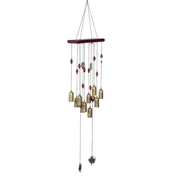 Wind chimes window hanging decor wind bell home ornament out