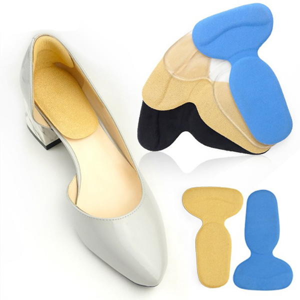 2pc women soft t-shape arch support orthotic insert insoles foot