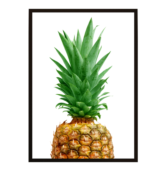 Poster - Ananas Topical No.2 21x30cm