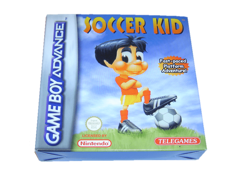 Soccer kid nintendo gameboy advance gba