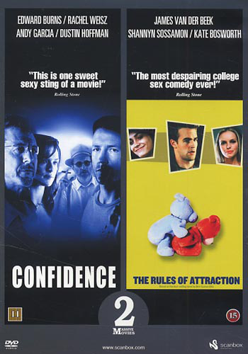 Confidence + rules of attraction (2 dvd)