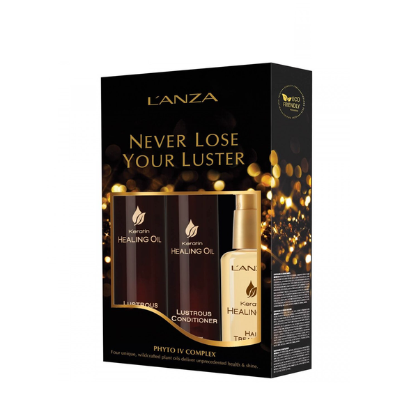 Giftset lanza never loose your luster