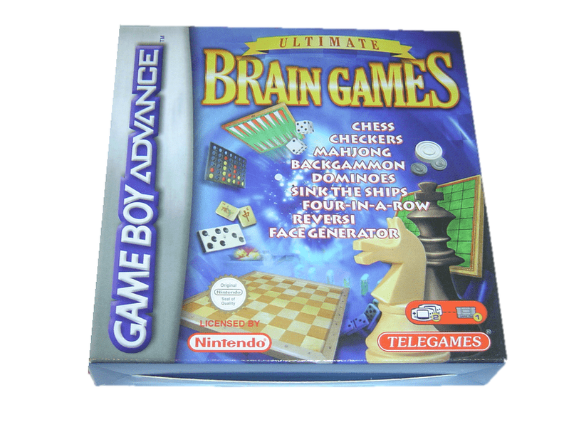 brain games nintendo gameboy advance gba
