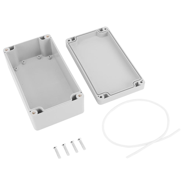 Water-resistant ip65 abs electrical project box enclosure in