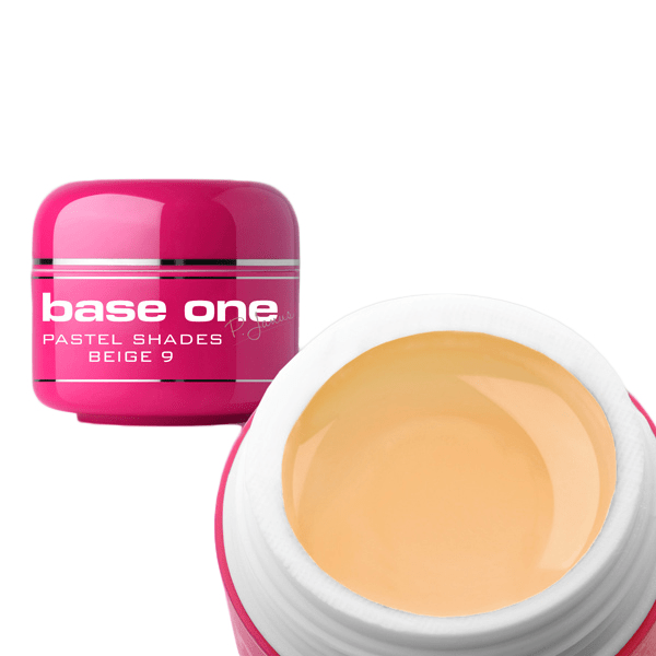 Base one – uv gel – pastel shades – beige – 09 – 5 gram