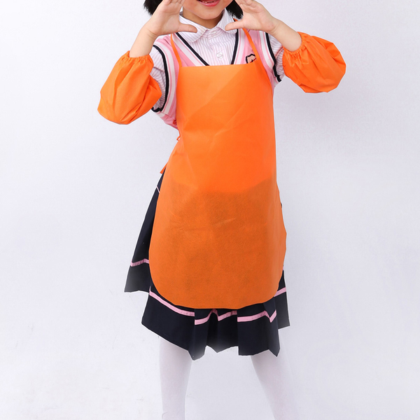 Children's non-woven aprons for art painting activity kitchen