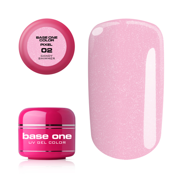 Base one pixel- candy shimmer- 5g