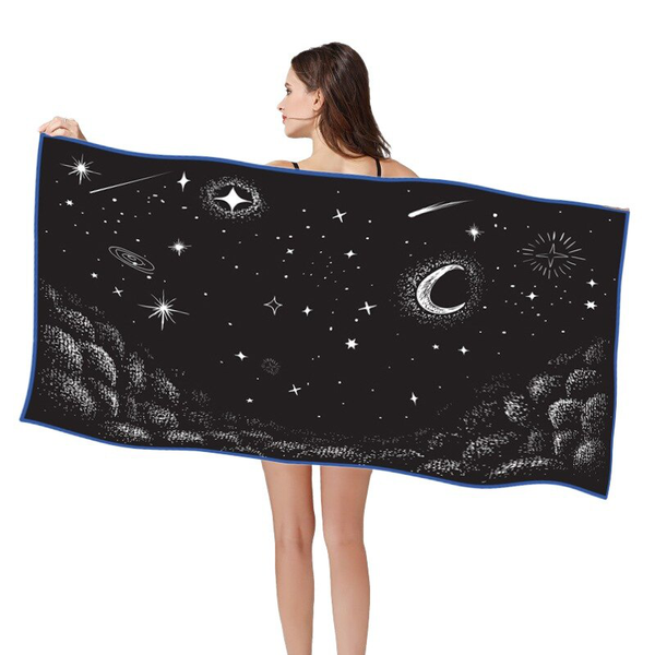 Quick-drying bath towel outdoor sports towel