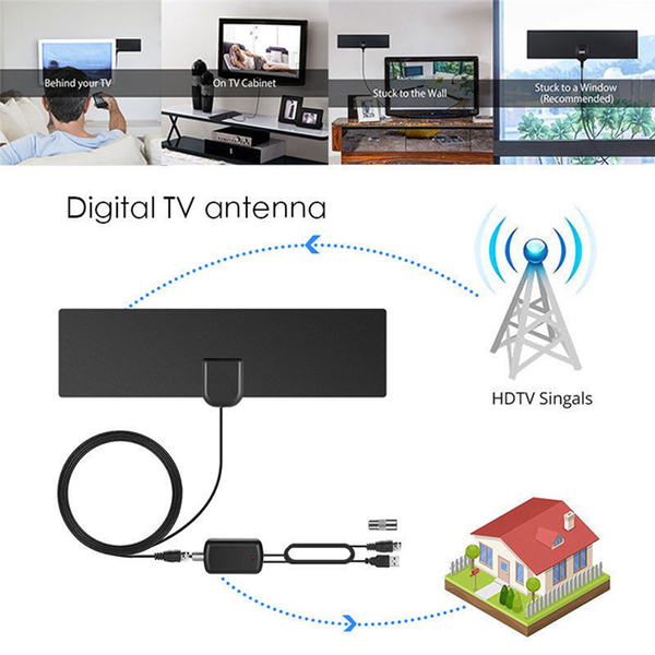 Hd digital tv antenna dvb-t/dvb-t2 hdtv television antenne with
